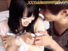 黒髪の清純美少女がイケメンに全身キスされて、照れまくりながら徐々に盛り上がっちゃう恋人同士みたいなラブラブエッチ!
